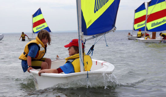 "Point Leo Boat Club offers a ""Learn to Sail"" Program (Tackers 1, ..."